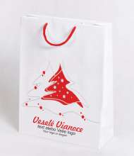 Christmas bag Kraft Premium 2