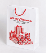 Christmas bag Kraft Premium 3