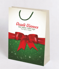 Christmas bag Kraft Premium 6