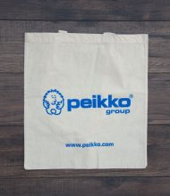 Cotton bag Standard of 140 g/m2 grammage, print via Pantone screen printing